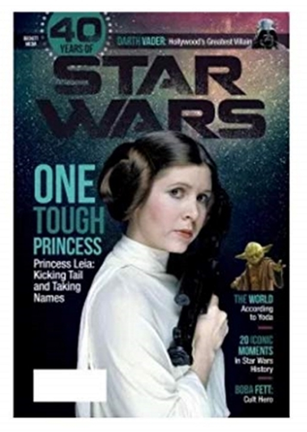 40 Years Of Star Wars Magazine Leia (August 2017)