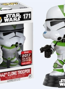 442 ND Clone Trooper Funko Pop 10 cm Celebration 2017 Nº 171