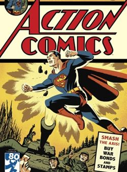 Action Comics #1000 1940s Variant Cover Edition Cover Michael Cho (April 2018) Superman
