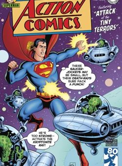 Action Comics #1000 1950s Variant Cover Edition Cover Dave Gibbons (April 2018) Superman