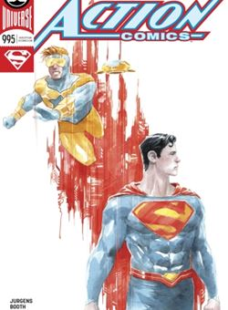 Action Comics #995 Varian Edition Cover Dustin Nguyen (January 2018) Superman