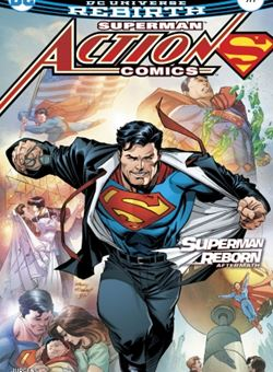 Action Comics Nº 977 Cover Andy Kubert (April 2017)