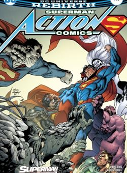 Action Comics Nº 978 Cover Andy Kubert (April 2017)