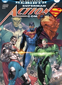 Action Comics Nº 979 Cover Clay Mann (May 2017)