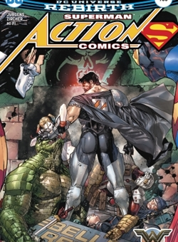 Action Comics Nº 980 Cover Clay Mann (May 2017)