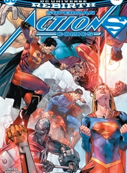 Action Comics Nº 983 Cover Clay Mann (July 2017) Superman