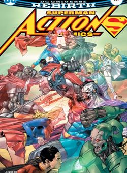 Action Comics Nº 984 Cover Clay Mann (July 2017) Superman