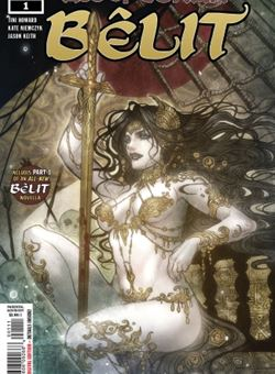 Age of Conan : Belit Nº1 (of 5) Cover Sana Takeda