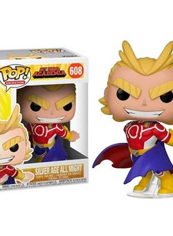 All Might (Silver Age) Funko Pop 10 cm Nº608 My Hero Academia