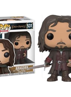 Aragorn Funko Pop Lord of the Rings 10 cm Nº 531 LOTR
