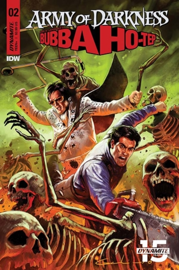 Army of Darkness Bubba Hotep Nº2 Cover Diego Galindo (March 2019)