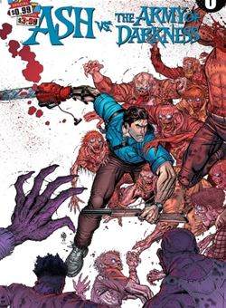 Ash Vs Army of Darkness Nº 0 Cover A Nick Bradshaw (June 2017)