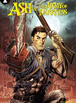 Ash Vs Army of Darkness Nº 1 Cover A Tyler Kirkham (July 2017)