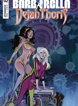 Barbarella Dejah Thoris Nº 2 Cover German Garcia (February 2019)