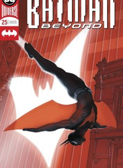 Batman Beyond Nº 25 Cover Foil Viktor Kalvachev (October 2018)