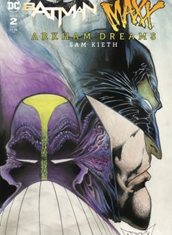 Batman/ The Maxx #2 (of 5) Arkham Dreams Cover A Sam Kieth (October 2018)