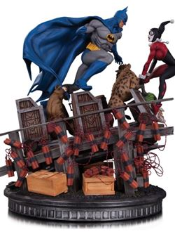 Batman VS. Harley Quinn Battle 1/8 36 cm