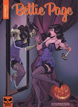 Bettie Page Halloween Special One Shot Cover Reilly Brown