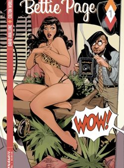 Bettie Page Nº 1 Cover A Terry Dodson (July 2017)