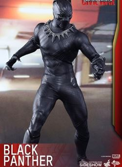 Black Panther - Capitan America. Civil War Hot Toys Figura 1/6