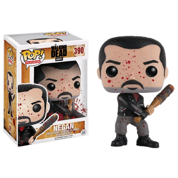 Bloody Negan Funko Pop 10 cm TWD Nº 390