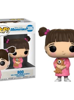 Boo Funko Pop 10 cm Nº386 Monsters Inc. (Monstruos SA)