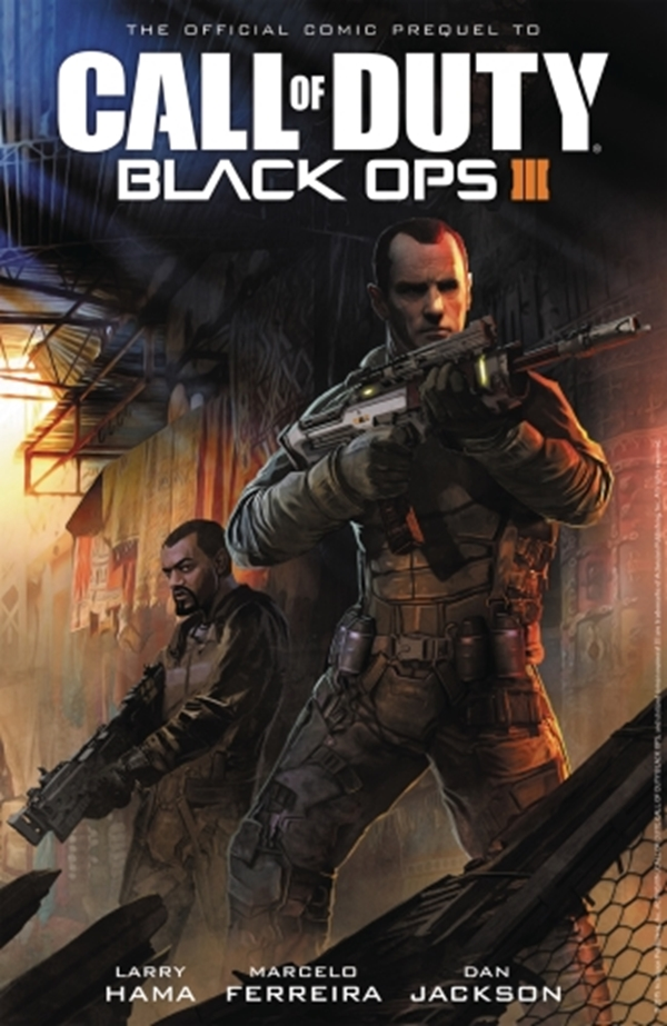 Call of Duty Black Ops III TP Cover Benjamin Carre (January 2017)