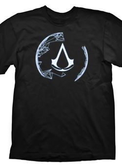 Camiseta Assassins Creed 4 Animus Crest Talla L M/C