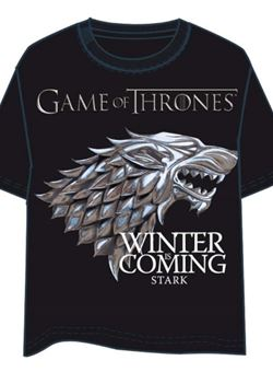 Camiseta Juego De Tronos Stark Winter Is Coming Adulto
