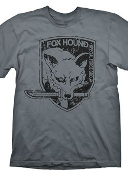 Camiseta Metal Gear Solid Foxhound S