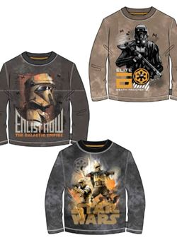 Camiseta Star Wars Disney M/L Niño