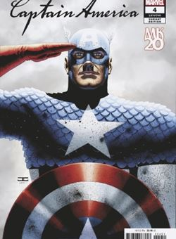 Captain America Nº4 Variant Cover MKXX John Cassaday (October 2018)