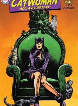 Catwoman 80Th Anniversary 100 Page Super Spectacular 1950s Variant Cover Travis Charest (June 2020)