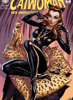 Catwoman 80Th Anniversary 100 Page Super Spectacular 1960s Variant Cover J. Scott Campbell (June 2020)