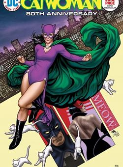 Catwoman 80Th Anniversary 100 Page Super Spectacular 1970s Variant Cover Frank Cho (June 2020)