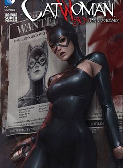 Catwoman 80Th Anniversary 100 Page Super Spectacular 2010s Variant Cover Jee-Hyung Lee (June 2020)