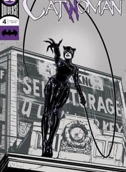 Catwoman Nº4 Cover Foil Joëlle Jones (October 2018)