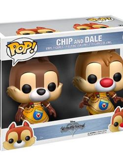 Chip & Dale Funko Pop 7 cm Kingdom Hearts Pack 2 figuras