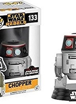 Chopper Funko Pop 10 cm Rebels Celebration 2017 Nº 133
