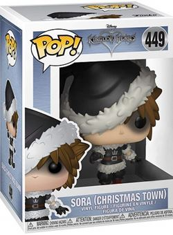 Christmas town Sora Funko Pop Nº449 Kingdom Hearts 3