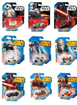 Coches Star Wars Hot Wheels