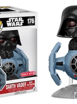 Darth Vader Tie Fighter Funko Pop 10 cm Nº 176