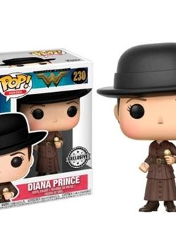 Diana with Ice Cream Funko Pop 10 cm Wonder Woman Exclusive Nº230