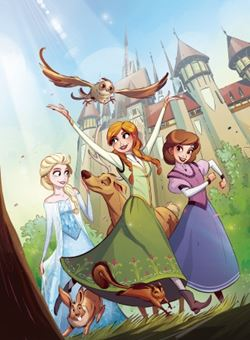 Disney Frozen Breaking Boundaries Nº 3 Cover A Kawaii Creative Studio (Octubre 2018)