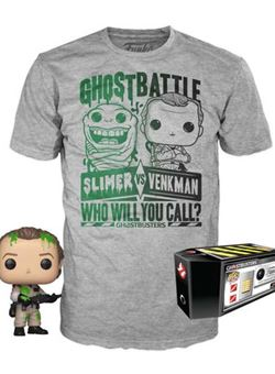 Dr. Peter Venkman heo Exclusive Set Pop y Camiseta talla L Los Cazafantasmas