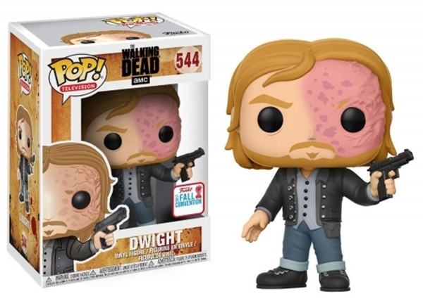 Dwight Funko Pop 10 cm Fall Convention Exclusive 2017 NYCC The Walking Dead Nº544
