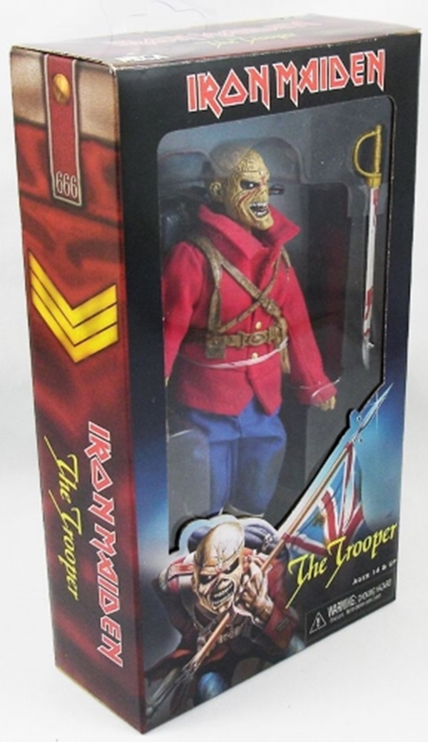 Eddie The Trooper Retro Iron Maiden