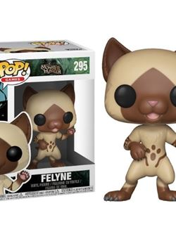 Felyne Funko Pop 10 cm Monster Hunter Nº295