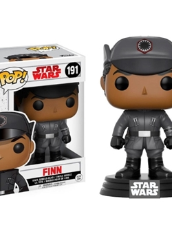 Figura Bobble POP! Star Wars Episode VIII The Last Jedi Finn Nº191
