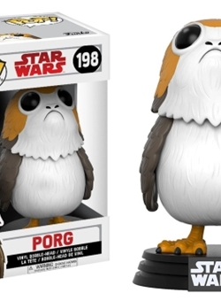 Figura Bobble POP! Star Wars Episode VIII The Last Jedi Porg Nº 198
